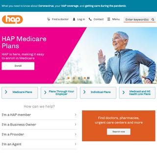 HAP - Affordable Michigan Health Insurance - Michigan Health Insurance - HAP