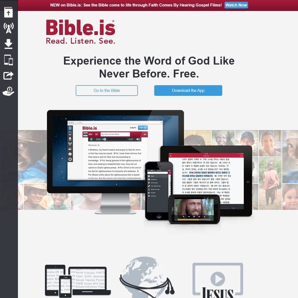 Bible.is - Experience the Word of God Like Never Before. Free.