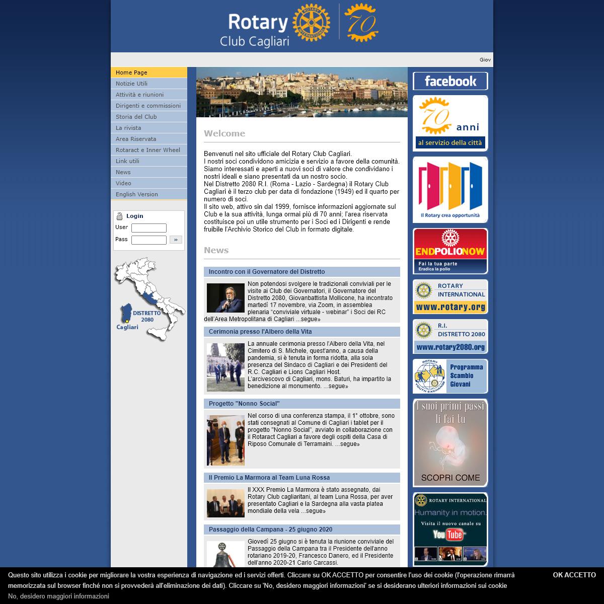 Rotary Club Cagliari - Distretto 2080 - Home Page