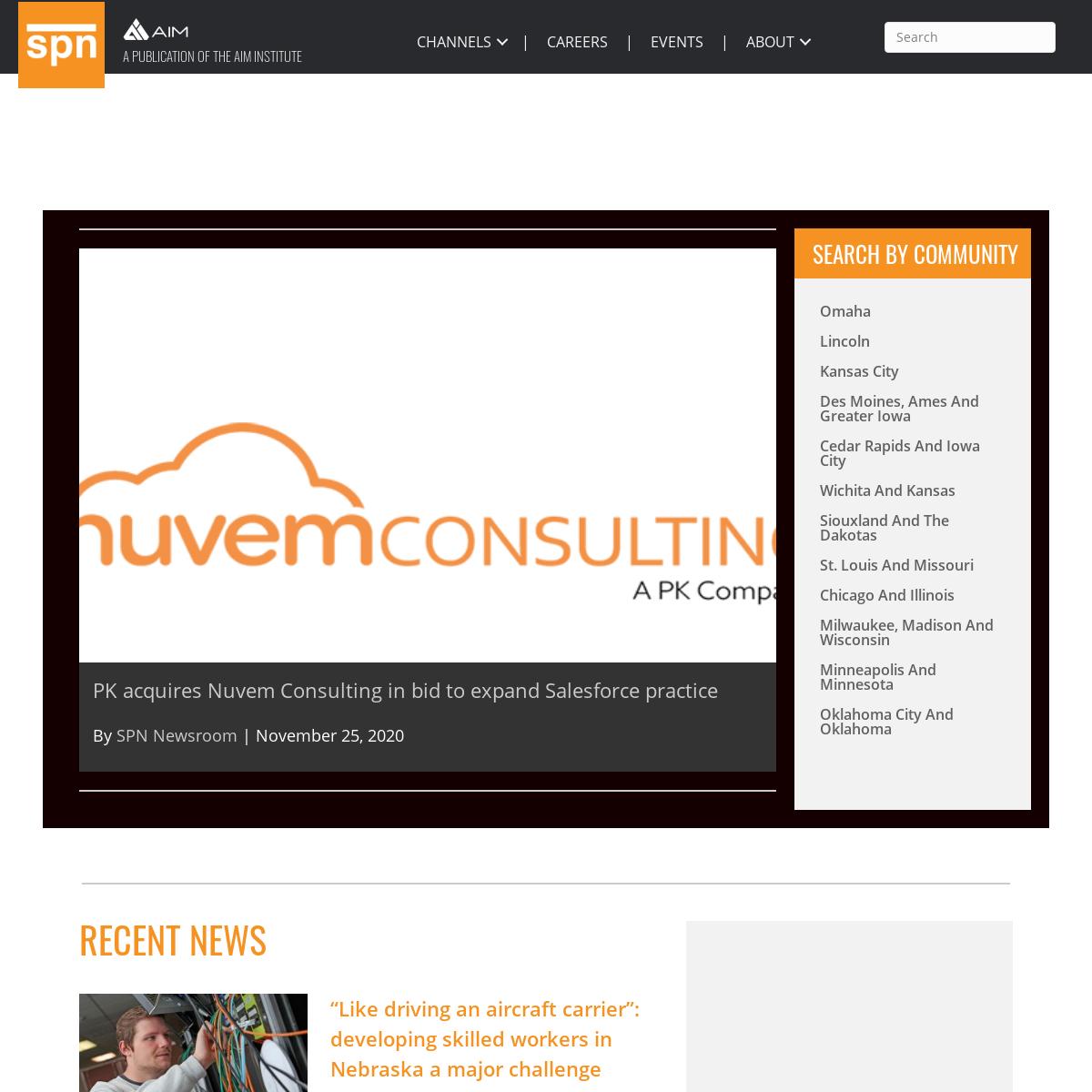 SPN Homepage - Silicon Prairie News