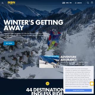 Multi-Resort Unlimited Ski-Snowboard Season Pass - Ikon Pass