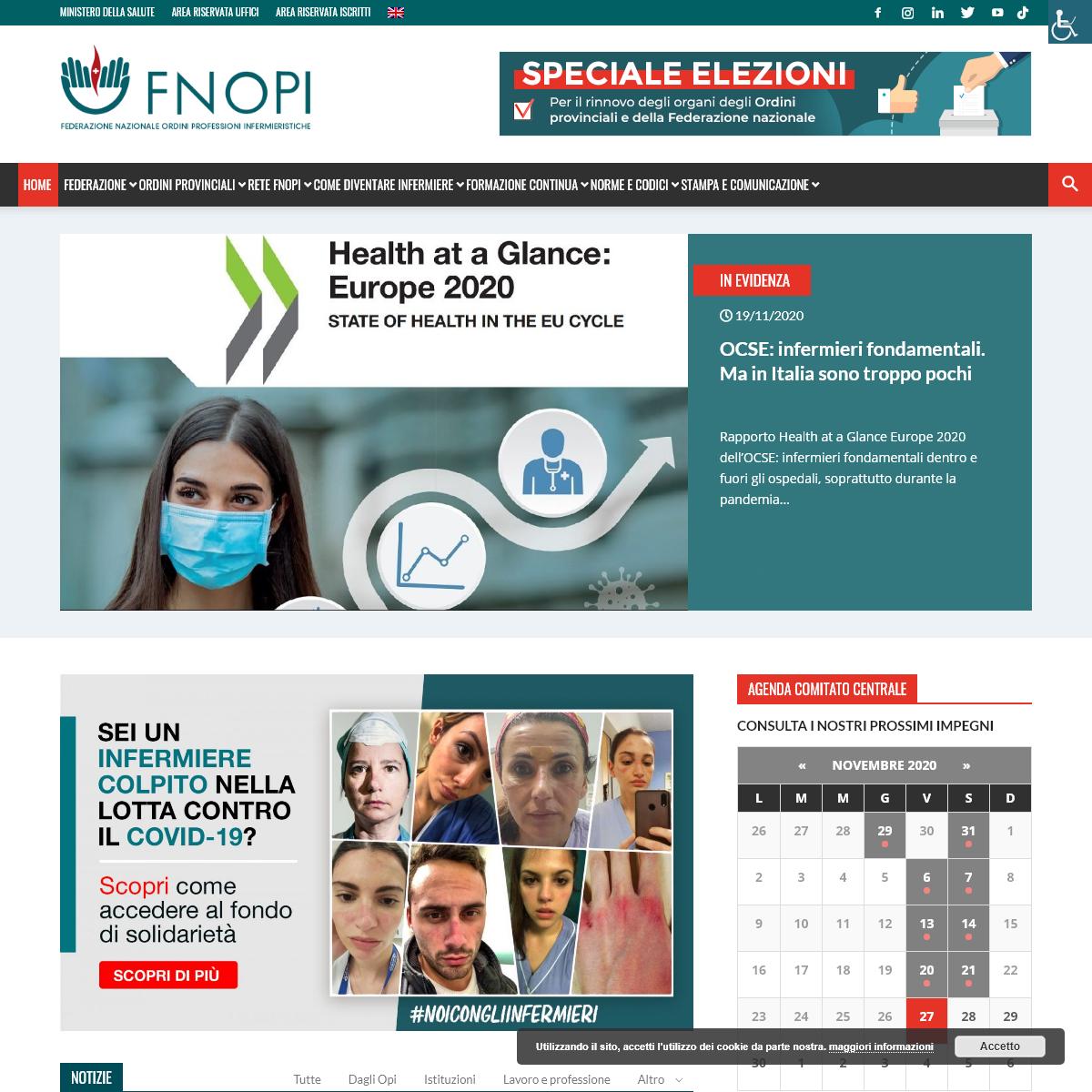 FNOPI - Federazione Nazionale Ordini Professioni Infermieristiche