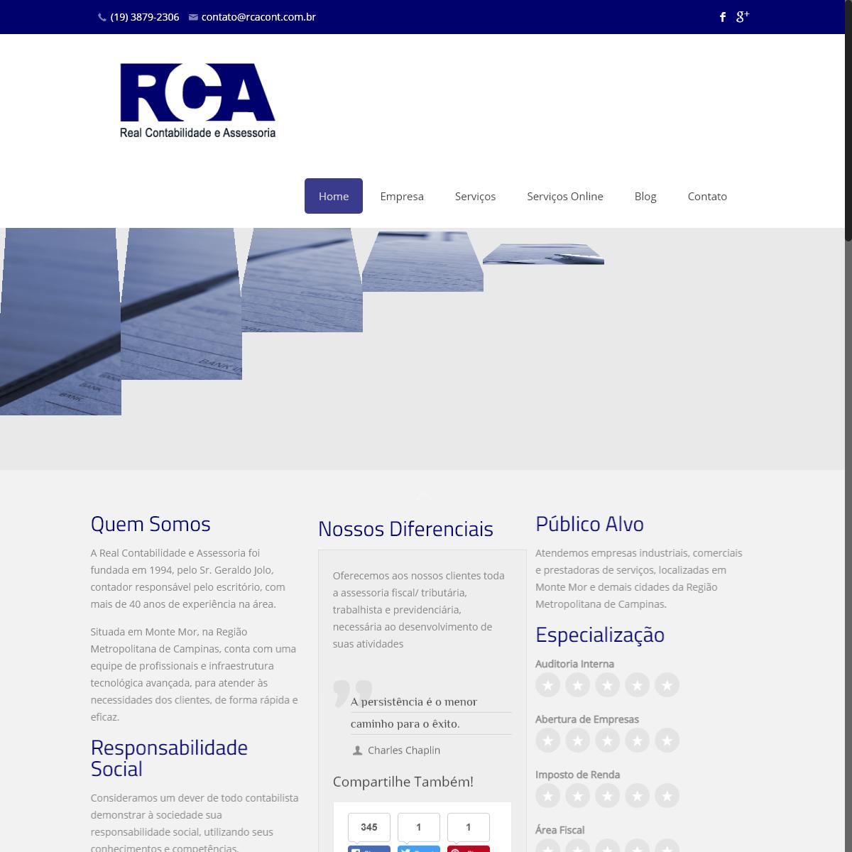 Real Contabilidade Assessoria - Serviços Contábil, Fiscal, Departamento Pessoal