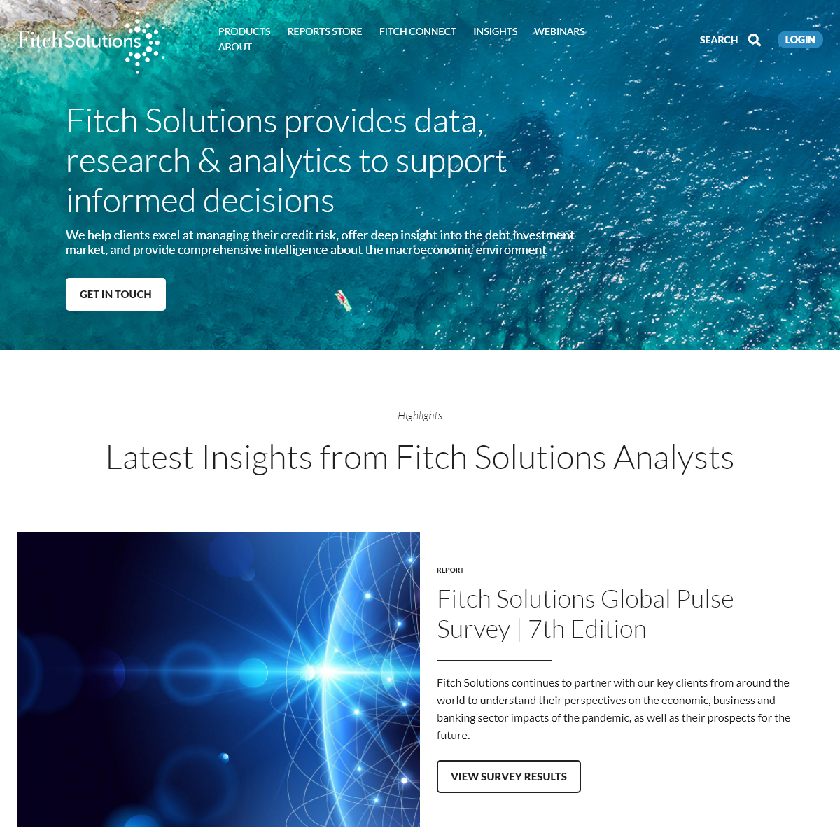 Fitch Solutions- Data, Research And Analytics