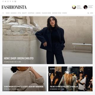 A complete backup of www.www.fashionista.com