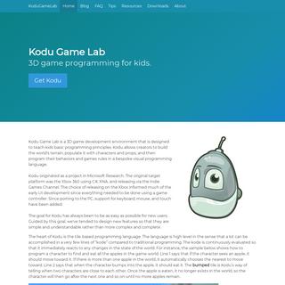Kodu Game Lab - KoduGameLab