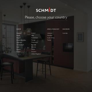 Schmidt worldwide - find your Schmidt Advice Centre