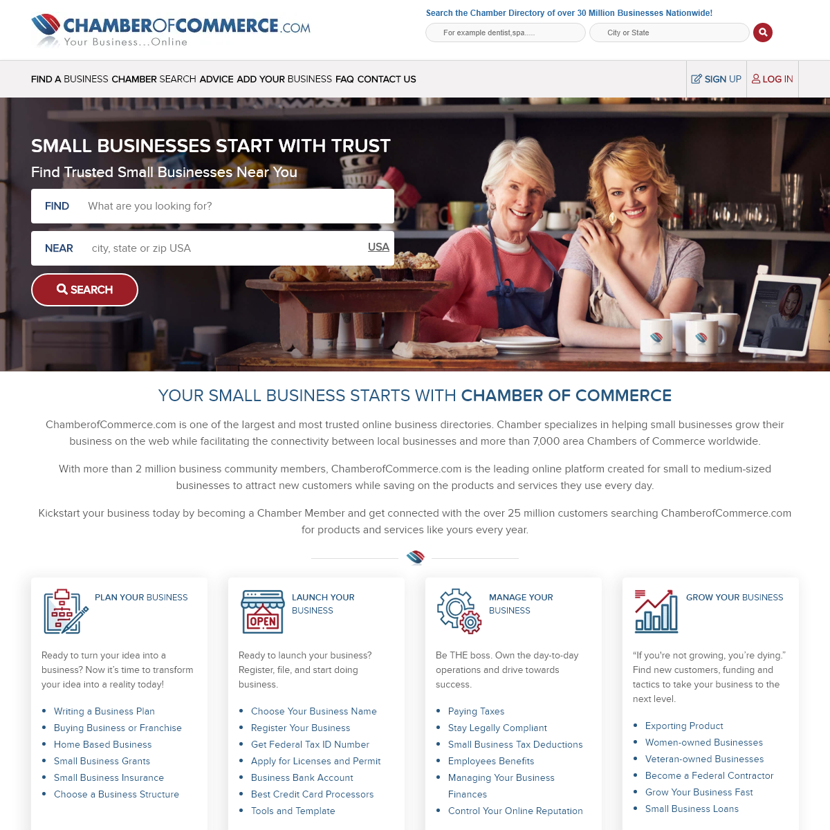Chamber of Commerce - The Most Trusted Online Business Community
