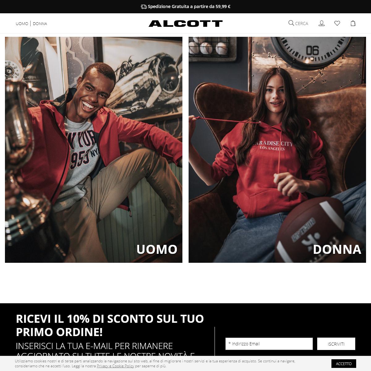 Alcott - Italia - Scopri la nostra nuova collezione