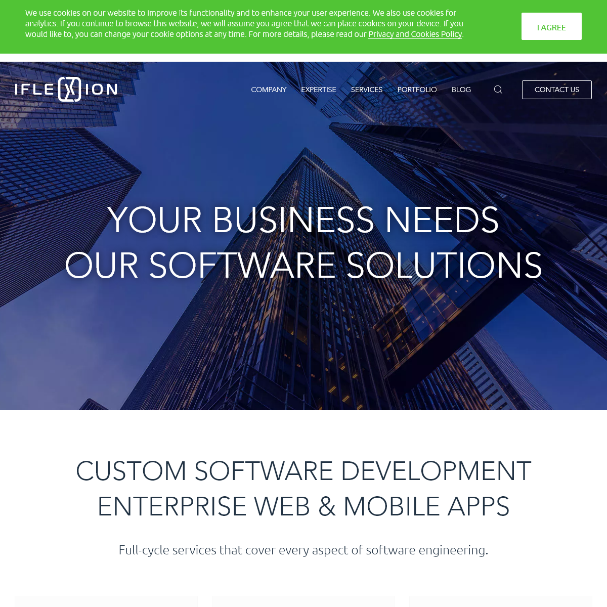 Custom Software Development - Iflexion