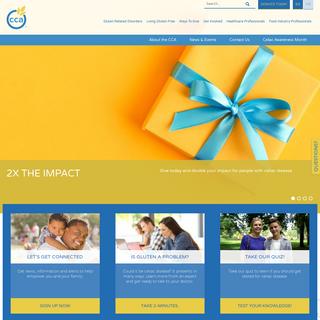 Home Page - Canadian Celiac Association