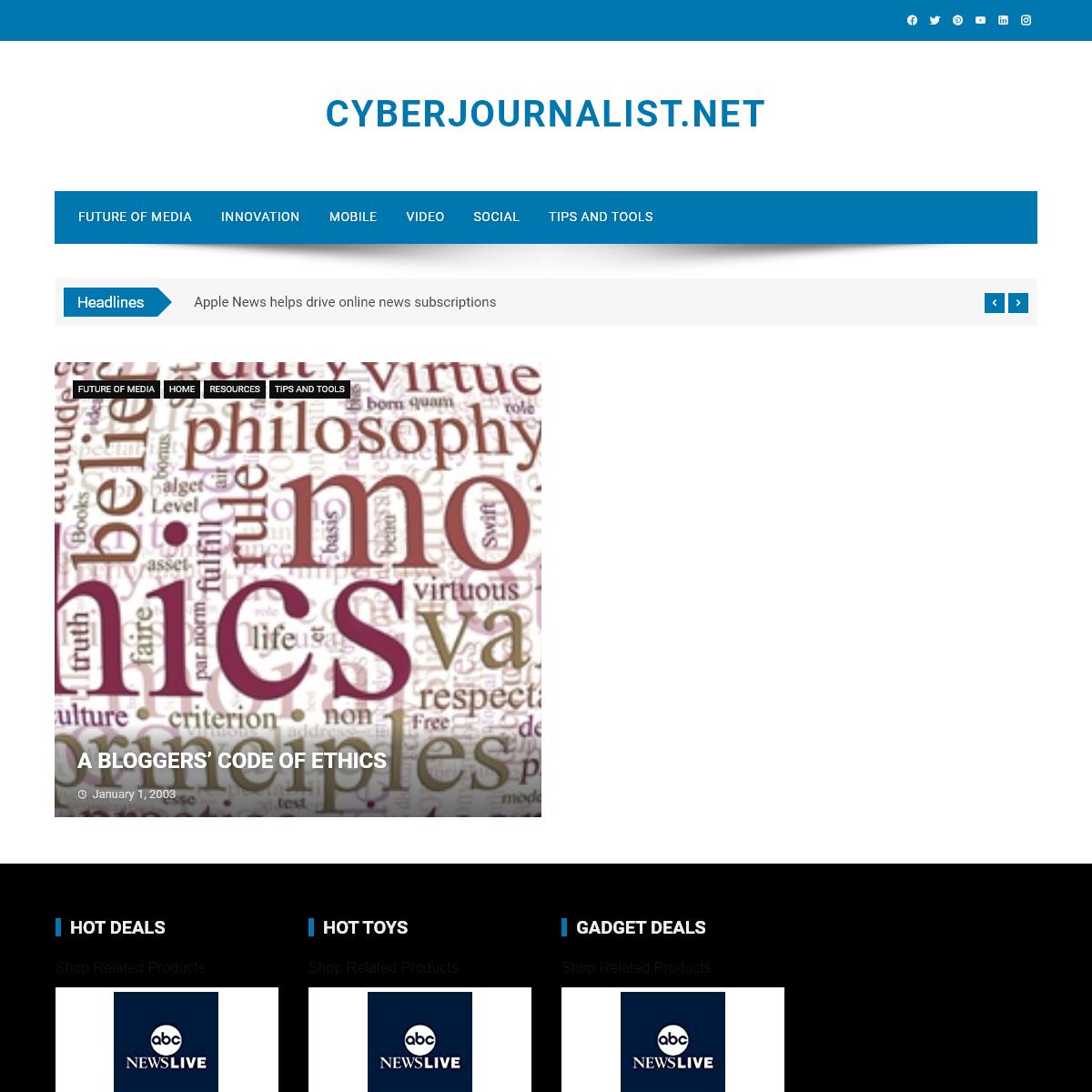 Home - CyberJournalist.net