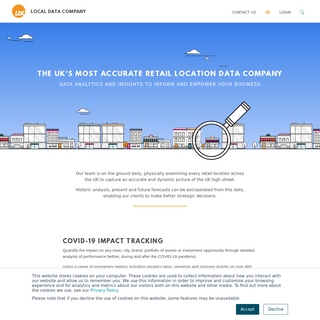 The UK`s most accurate retail location data business