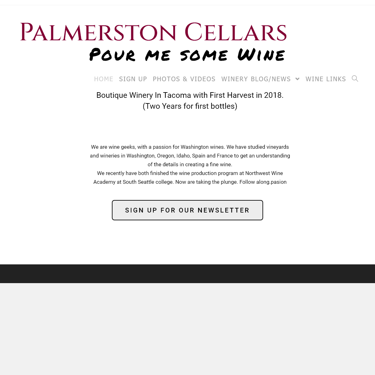 Palmerston Cellars – Winery