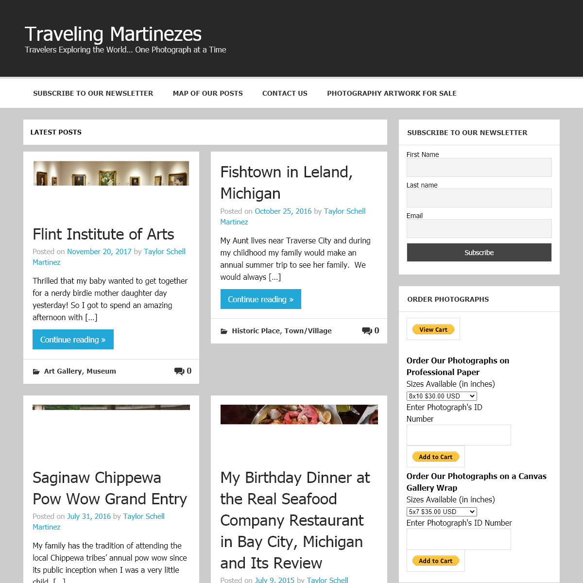 Traveling Martinezes – Travelers Exploring the World… One Photograph at a Time