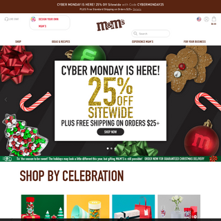 Personalized Gifts, Favors and More - M&M`S - mms.com