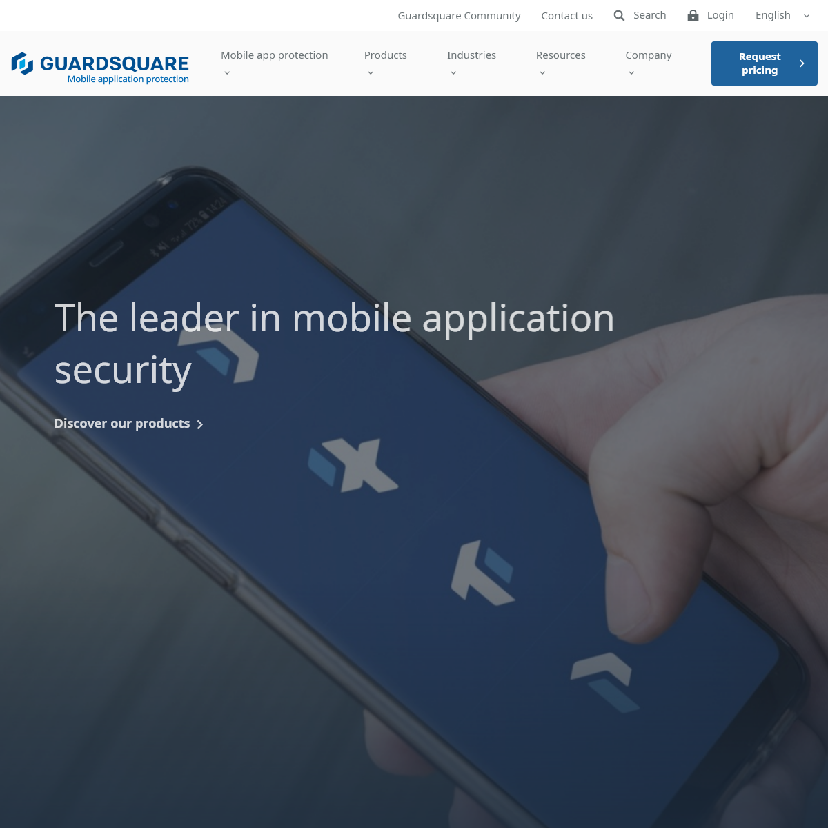 Guardsquare - The leader in mobile application security