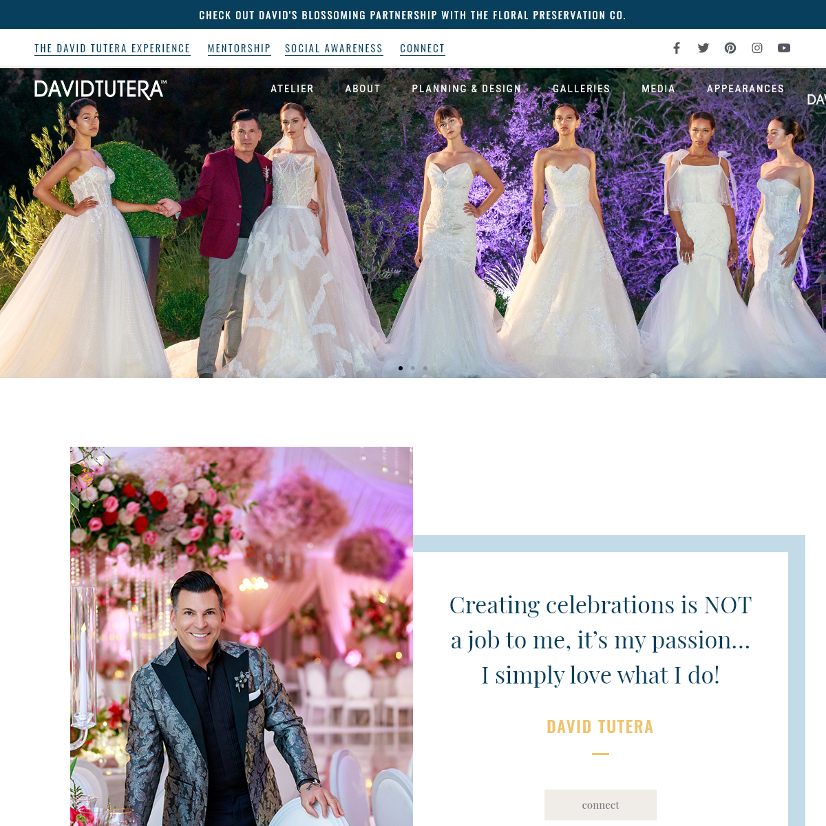 David Tutera - Event Planner, Fashion Designer & Wedding Expert