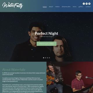Waterfallz Official Website - Home of all Waterfallz music!