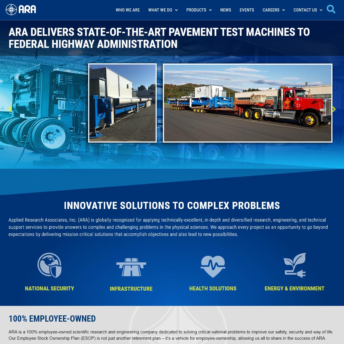 Applied Research Associates - ARA