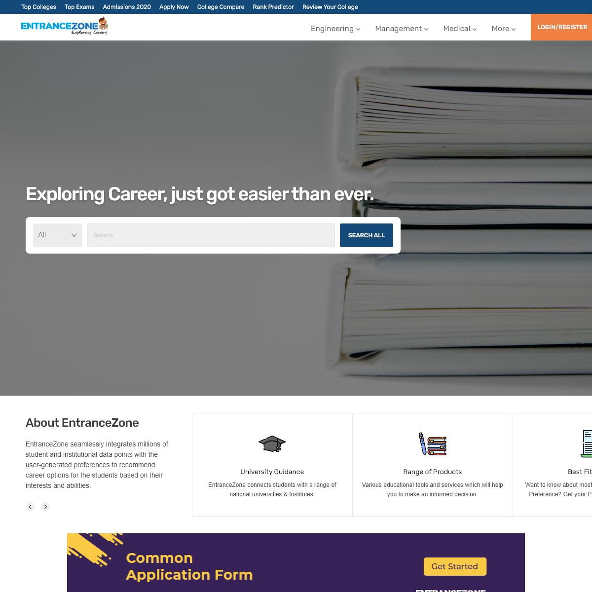 EntranceZone- Exploring Careers KG to PhD