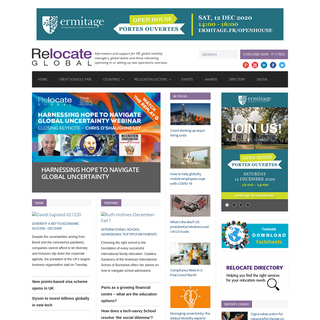 Corporate Relocation, Global Mobility News & Support, Relocate Magazine - Relocate magazine