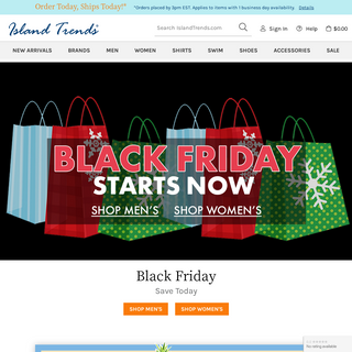 Island Trends - Upscale Fashion, Swimwear, Shoes and Sandals for Men and Women