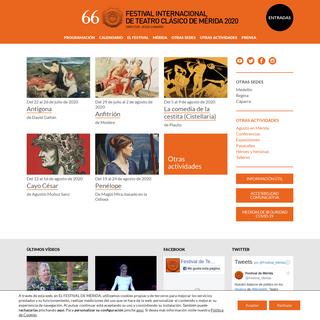 Festival Internacional de Teatro Clásico de Mérida -