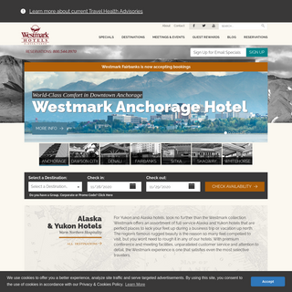 Alaska Hotels & Yukon Hotels - Westmark Hotels Collection