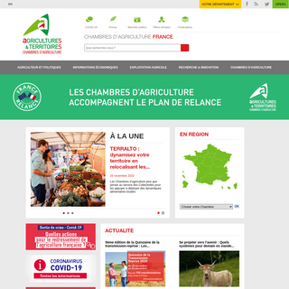 Chambres d`agriculture - France