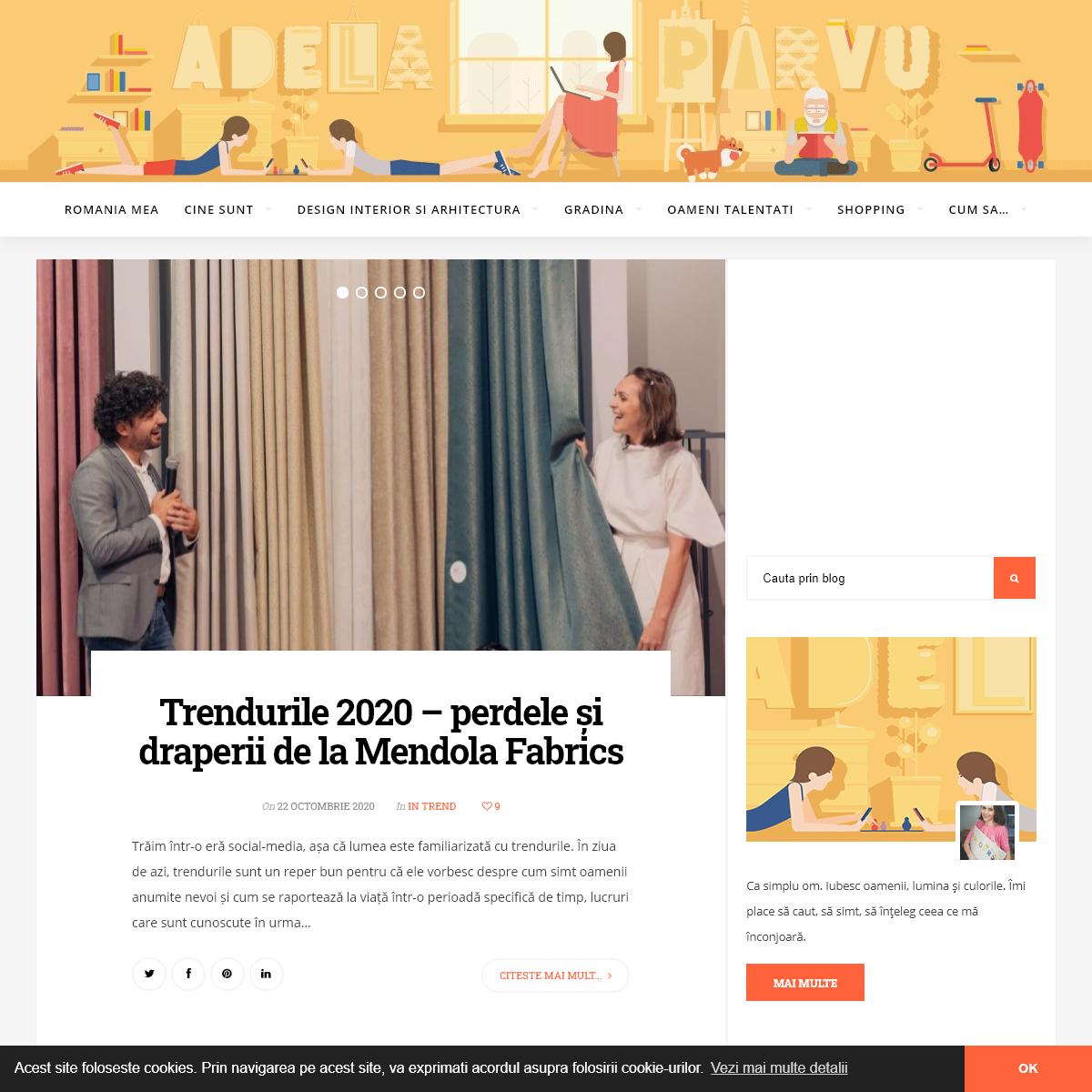 Adela Pârvu - Interior design blogger - O viaţă avem- Colorată să fie!