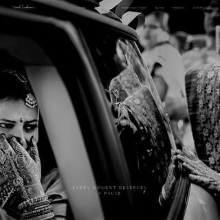 Vivek Krishnan - Candid Wedding Photography Bangalore