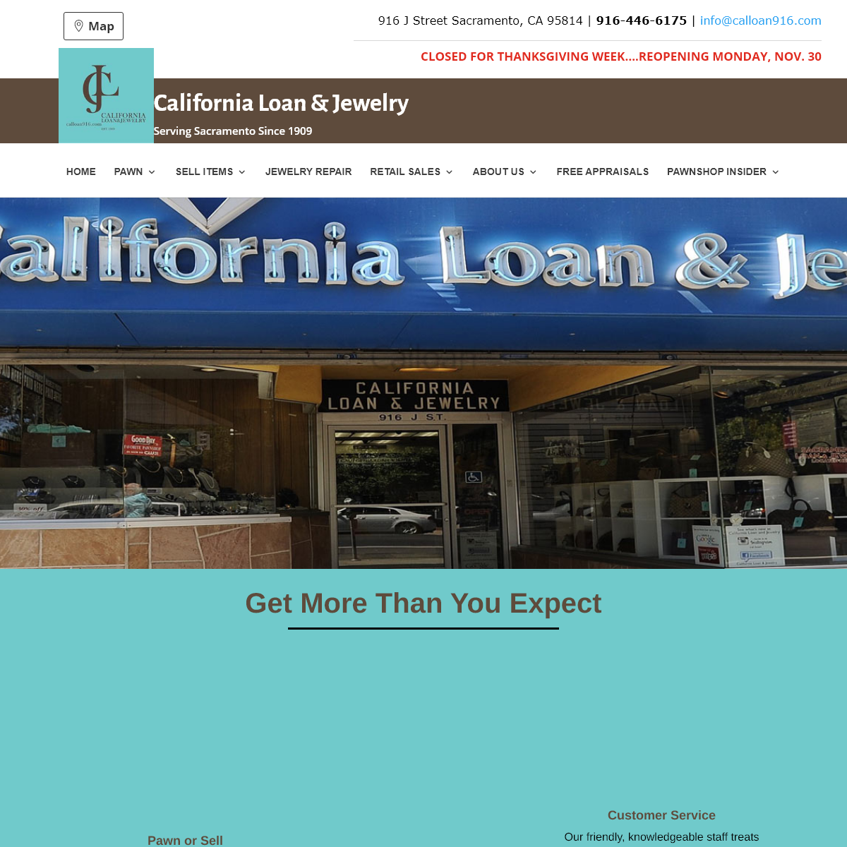 California Loan & Jewelry Inc. - Home - Get More Than You Expect!