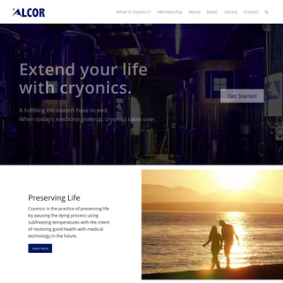 Alcor - Life Extension Foundation - Cryonics
