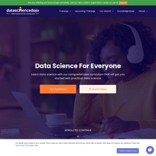 Learn Data Science » Data Science Dojo