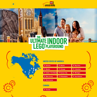 LEGOLAND® Discovery Center - the ultimate indoor LEGO® Playground