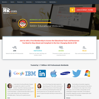 HR.com - The Human Resources Social Network