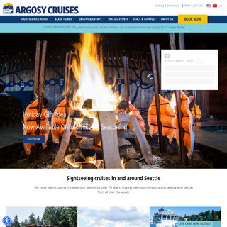 Seattle Boat Tours & Events - Fun Things To Do - Argosy Cruises
