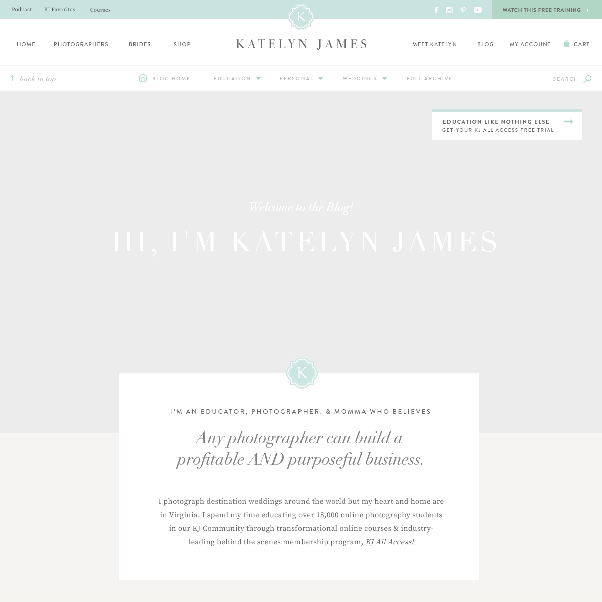 Blog - Virginia Wedding Photographer - Katelyn James Photography