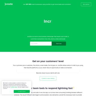 Live Chat Software for Websites - JivoSite