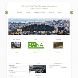 - Buena Vista Neighborhood Association