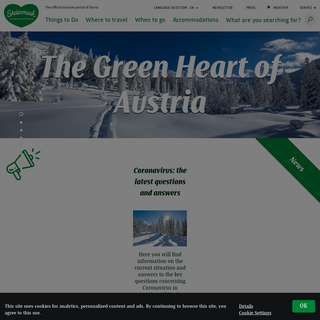 Holidays in Styria - Discover the pure nature of Austria