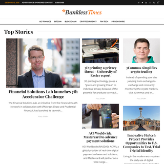 Bankless Times – Covering alt-fi since 2012