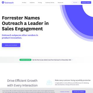 Sales Engagement Platform, Sales Automation Software - Outreach