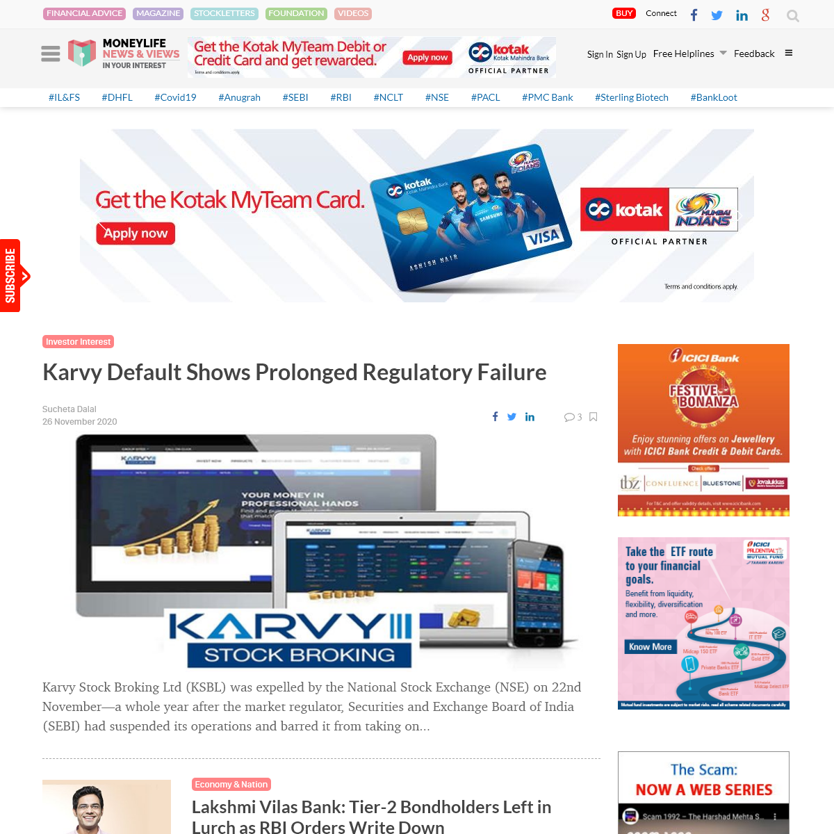 Moneylife India - Financial Magazines online in India