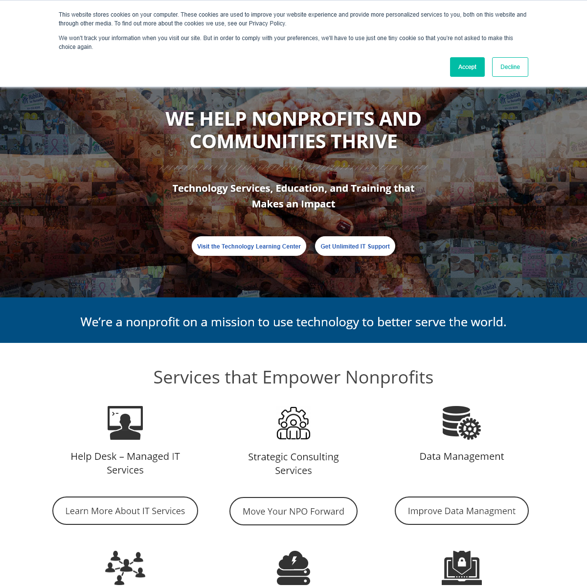 Leaders in Nonprofit Technology - Tech Impact