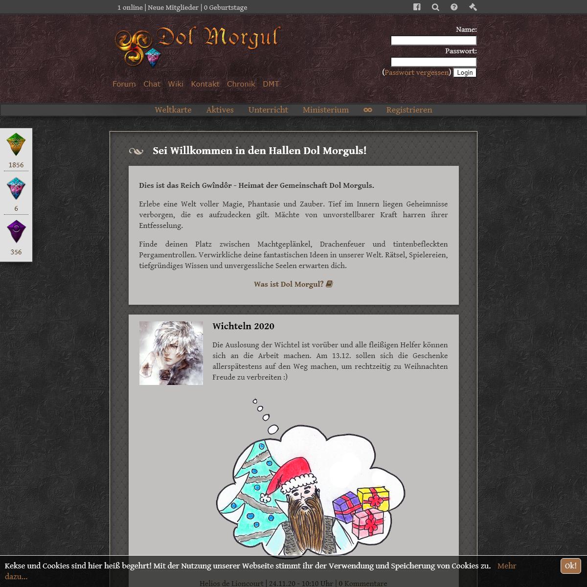 Dol Morgul - Fantasy Rollenspiel