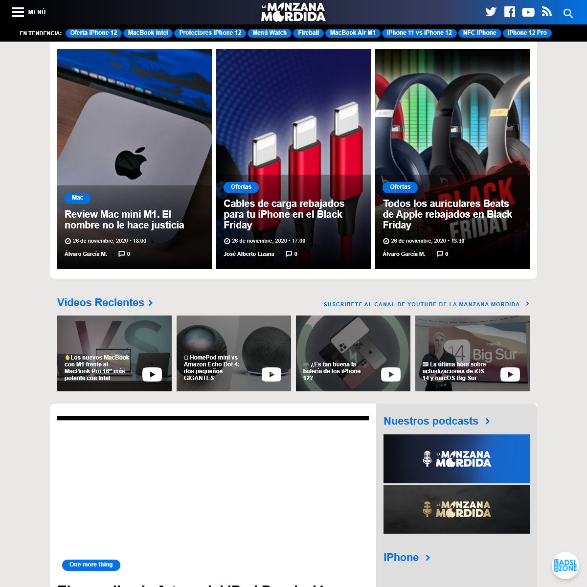 La Manzana Mordida - Sitio web de noticias Apple en castellano