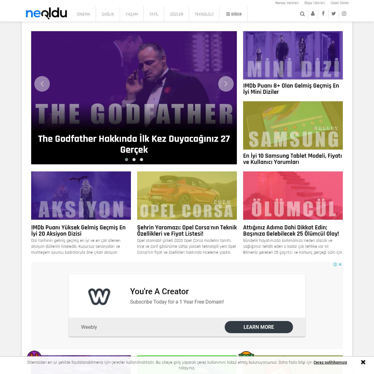 NeOldu.com - Sosyal İçerik ve Haber Platformu