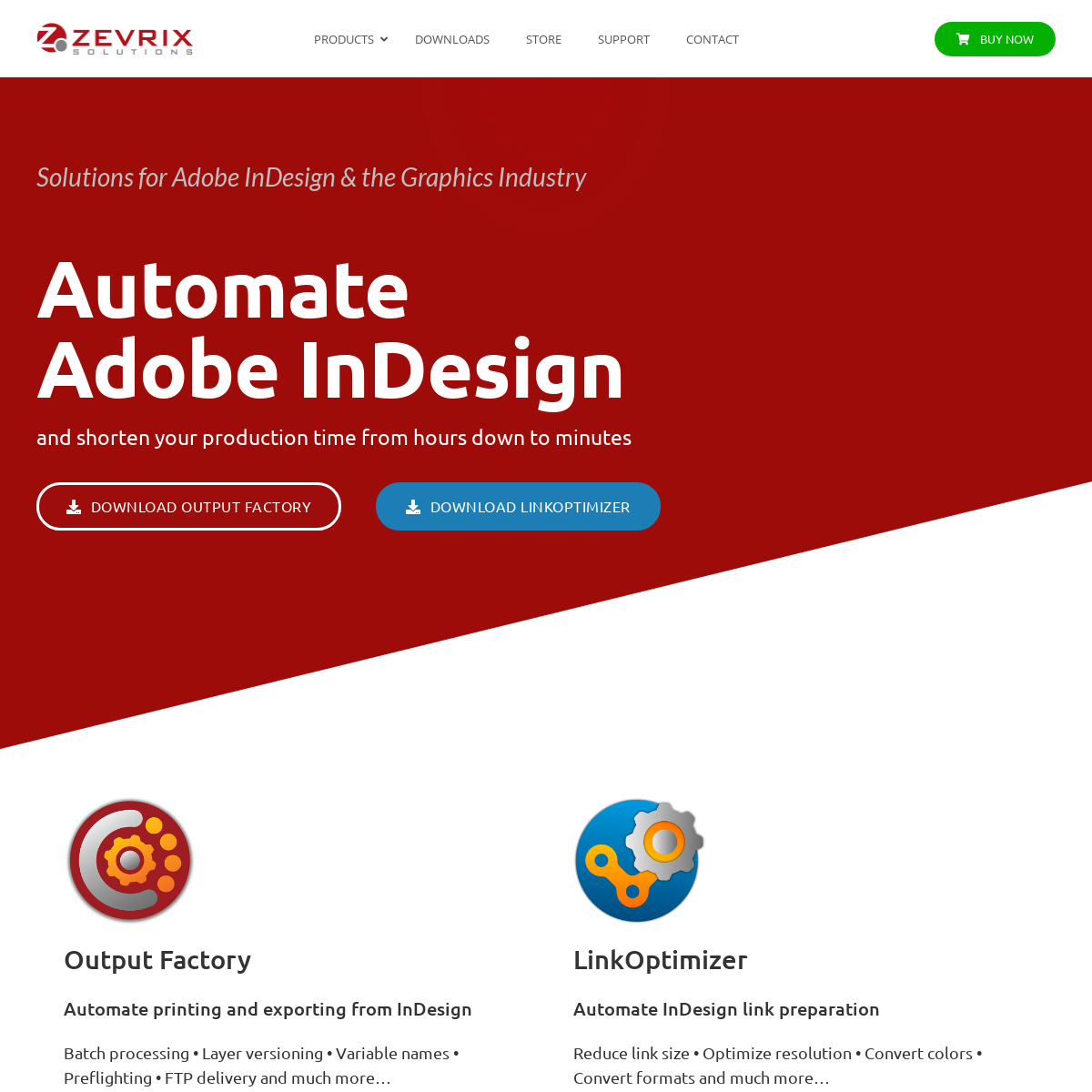 Zevrix Solutions – Solutions for Adobe InDesign & the Graphics Industry